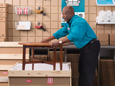 Pack And Ship Furniture Packing Solutions The UPS Store Fascinating Cheapest Way To Move Furniture Across Country Model