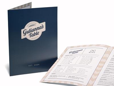 Custom menu printing menus printed the ups store printed italian restaurant menu open and closed colourmoves