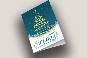 Print services professional bw and color the ups store forms 3 stacks of holiday cards reheart Gallery