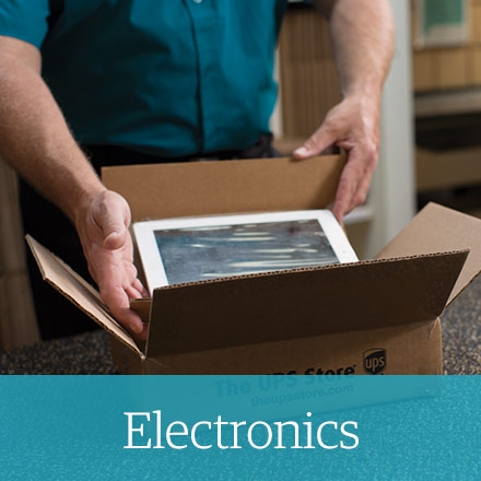 how to pack electronics for shipping