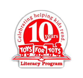 Toys for Tots Literacy Program 10th Anniversary