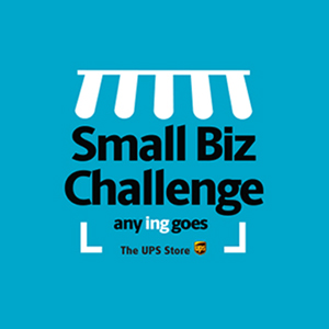 Small Biz Challenge Logo text reads