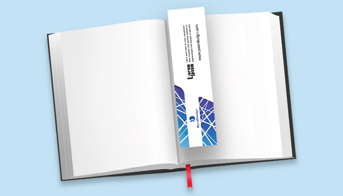 full-color double-sided printed bookmarks