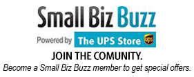 An image of the Small Biz Buzz logo