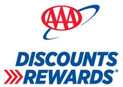AAA Discounts Rewards logo
