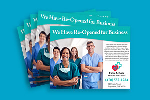 double-sided flyers